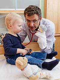 Dr. Martin David - Anthroposophischer Kinderarzt in Wien